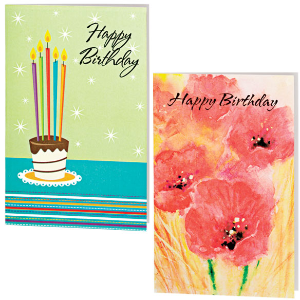 Assorted Birthday Cards - 24 Pack - View 4