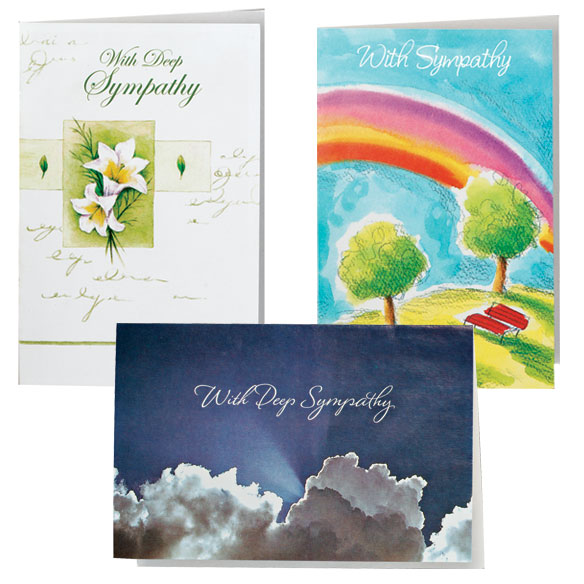 Encouragement And Sympathy Cards - Set Of 24 - View 2