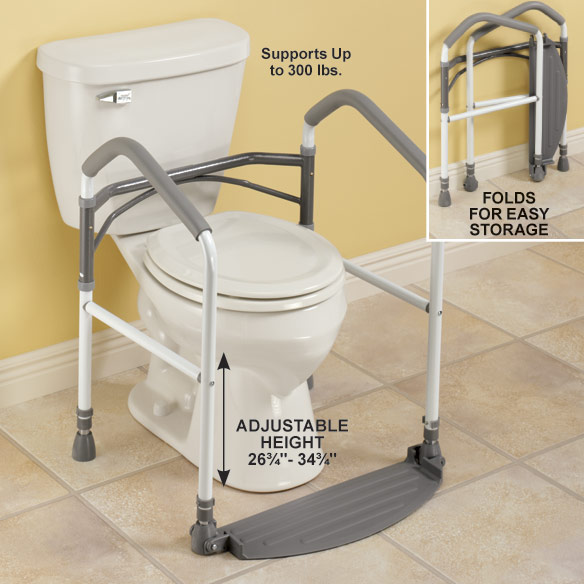 Toilet Safety Support - View 3