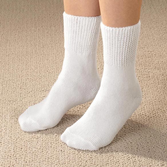 Diabetic Crew Socks - View 2
