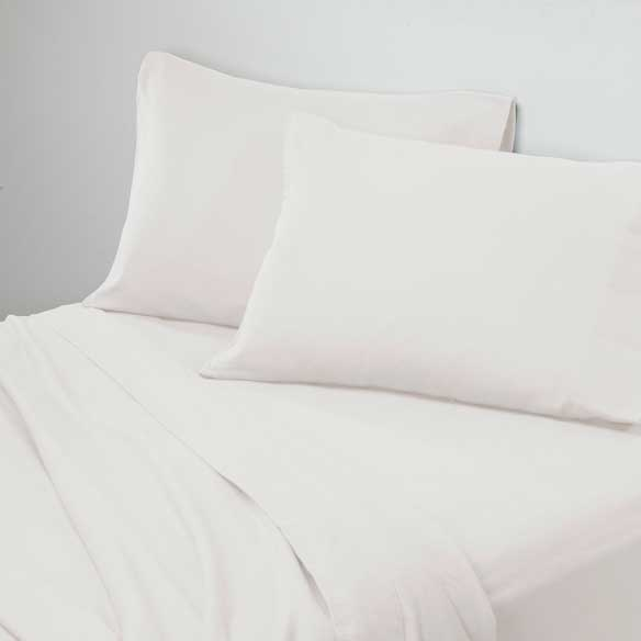 Solid Flannel Sheets - View 4