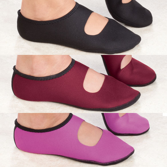NuFoot Neoprene Mary Jane Shoes - View 4