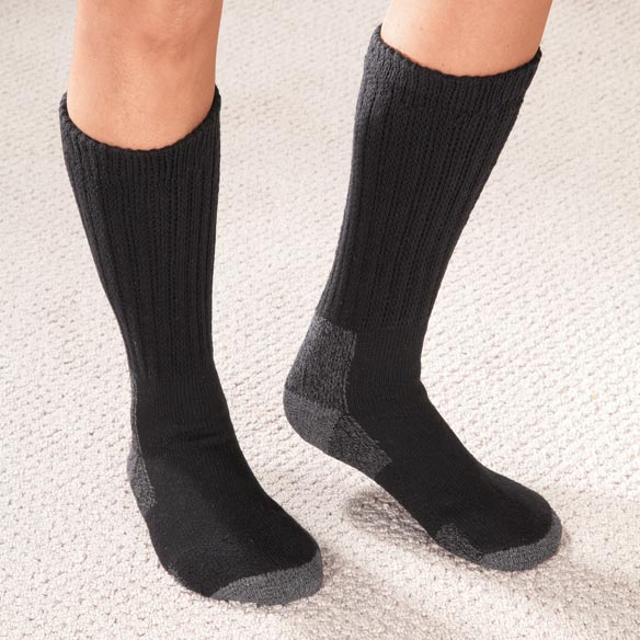 Diabetic Cold Weather Socks - 2 Pair - View 2