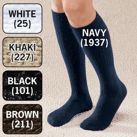 Graduated Compression Diabetic Calf Sock - View 2