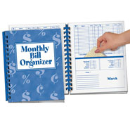 Daily Living Aids - Monthly Bill Organizer