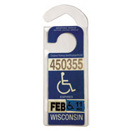 Auto & Travel - Handicap Placard Hanger