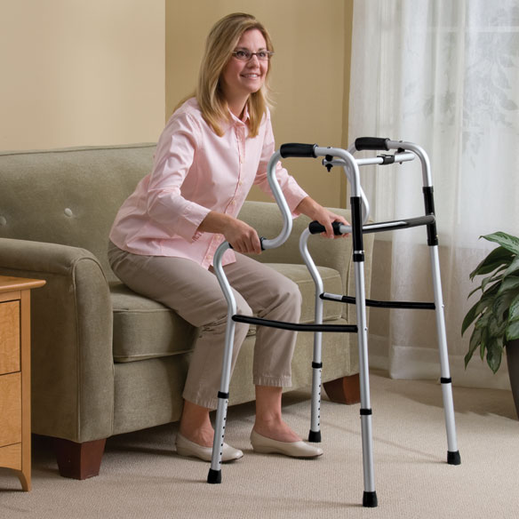 Uprise Folding Walker - View 1