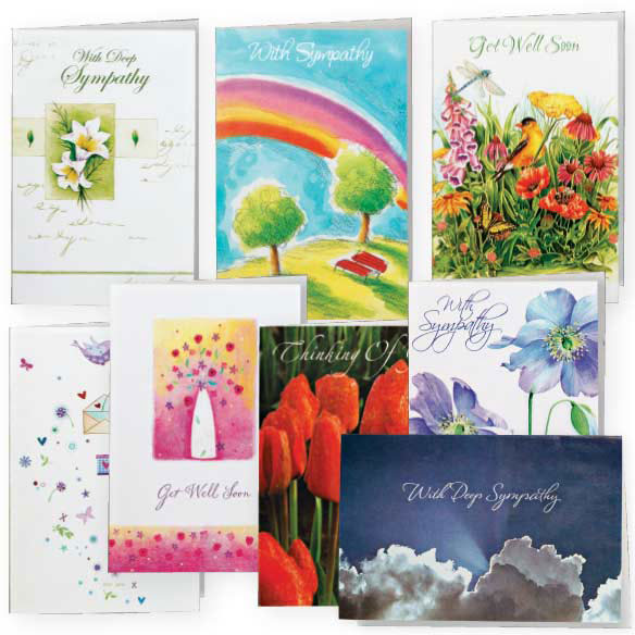 Encouragement And Sympathy Cards - Set Of 24 - View 1