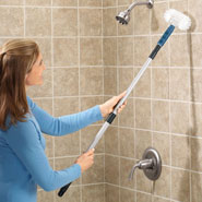 Home Necessities - Long Handle Tub Scrubber