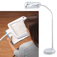 Lighting - Lighted Full Page Magnifier Lamp