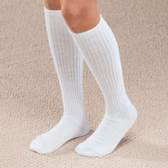 Compression Hosiery - Graduated Compression Diabetic Calf Sock