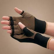 Compression Hosiery - Copper Compression Gloves