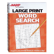 Vision Loss - AARP Large Print Word Search