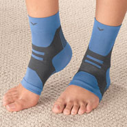Braces & Supports - Light Support Ankle Sleeve, 1 Pair