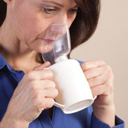 Nasal Congestion - Steam Inhaler with Mask & Essential Oil