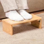 Daily Living Aids - Folding Footrest by OakRidge Accents™