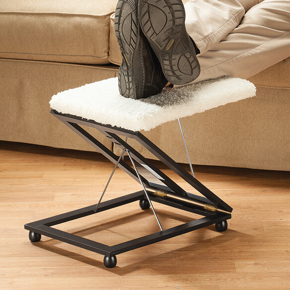 Sherpa Wooden Footrest by OakRidge Accents™ - View 1