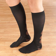 Compression Hosiery - Magnetic Compression Socks 10–15 mmHg