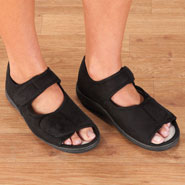 Footwear - Adjustable Memory Foam Slippers