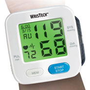 Exercise & Fitness - Color Changing Wrist Blood Pressure Monitor