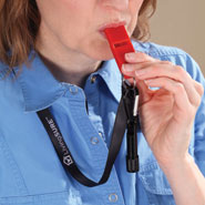 Home - Deluxe Emergency Whistle by LivingSURE™