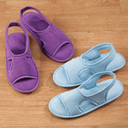 New - Terry Memory Foam Slipper